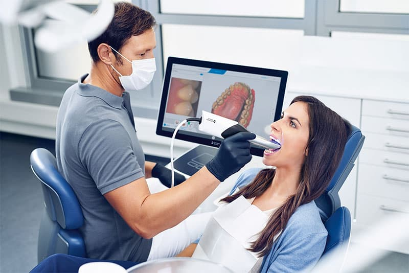 Empreinte dentaire numérique
